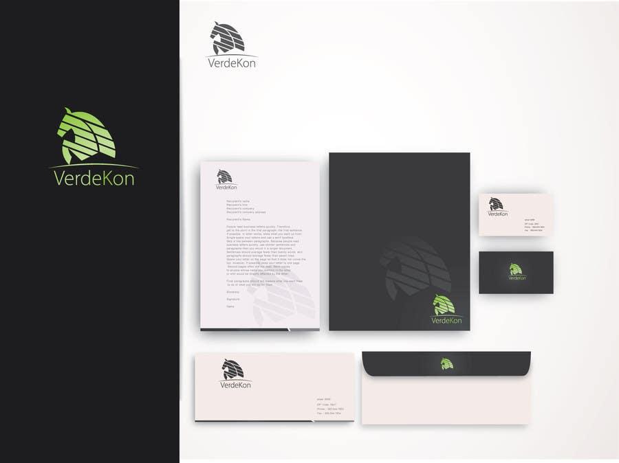 Kilpailutyö #170 kilpailussa Design a Logo and corporate design for VerdeKon