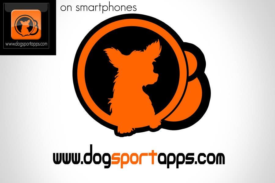 Penyertaan Peraduan #67 untuk Logo Design for www.dogsportapps.com