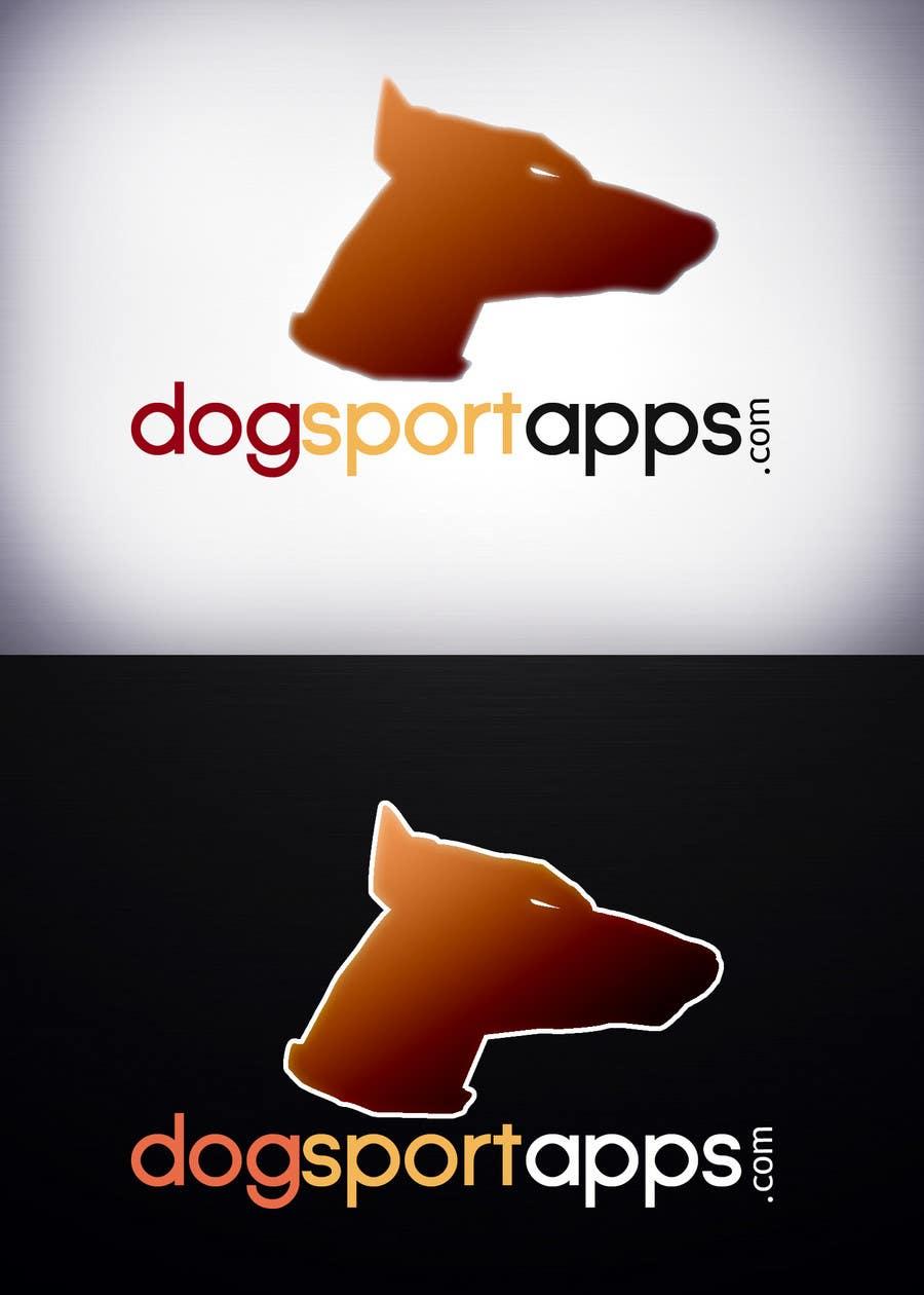 Penyertaan Peraduan #38 untuk Logo Design for www.dogsportapps.com