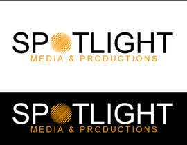 GoldSuchi tarafından Design a Logo for Spotlight Media and Productions için no 75