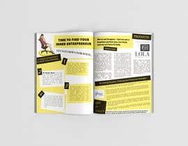 Nro 4 kilpailuun 2 page magazine spread in style of Grazia and Closer magazines käyttäjältä clau021