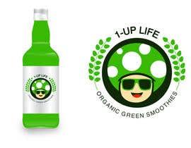 Nro 43 kilpailuun Design a Logo - 1-UP Green juice!! käyttäjältä irlieswirly