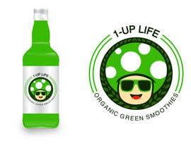 Nro 46 kilpailuun Design a Logo - 1-UP Green juice!! käyttäjältä irlieswirly
