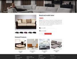 Nro 75 kilpailuun Design a single product page mockup for furniture ecommerce käyttäjältä doomshellsl