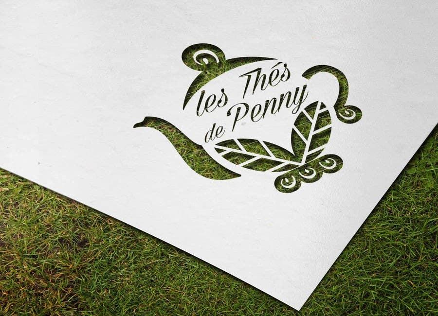 Penyertaan Peraduan #                                        46                                      untuk                                         Logo for a young girl home grown herbal tea compagny (les Thés de Penny)