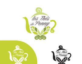 #47 for Logo for a young girl home grown herbal tea compagny (les Thés de Penny) by Helen2386