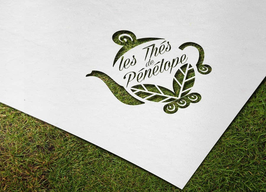 Penyertaan Peraduan #                                        64                                      untuk                                         Logo for a young girl home grown herbal tea compagny (les Thés de Penny)