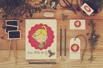 Logo Design Entri Peraduan #55 for Logo for a young girl home grown herbal tea compagny (les Thés de Penny)