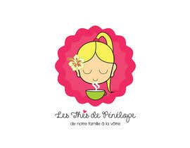 #73 for Logo for a young girl home grown herbal tea compagny (les Thés de Penny) by ghcc1932