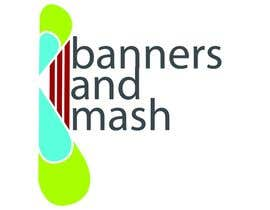 nº 97 pour Logo Design for Banners and Mash Limited par animrev