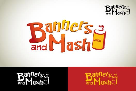 Bài tham dự cuộc thi #100 cho Logo Design for Banners and Mash Limited