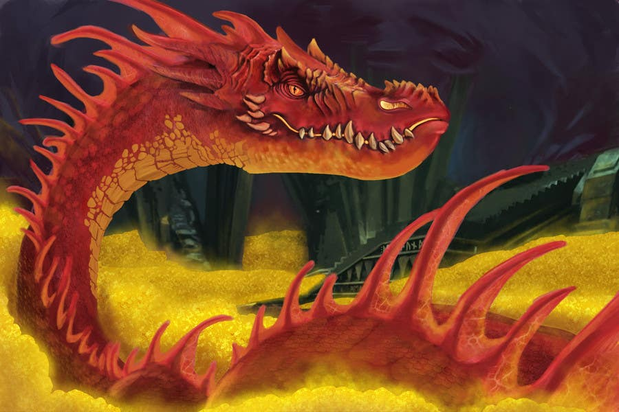 #13 for Awesome Dragon Illustration by alexboatman