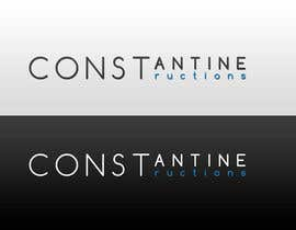 #276 for Logo Design for Constantine Constructions by IjlalB