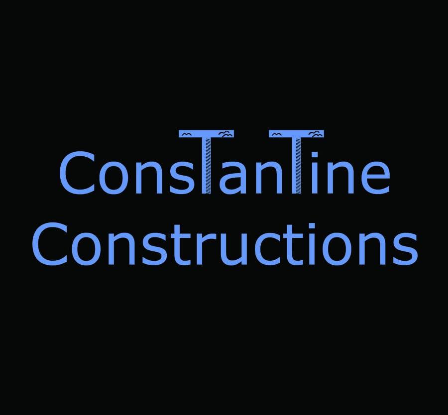 Kilpailutyö #55 kilpailussa Logo Design for Constantine Constructions