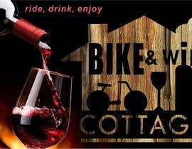 #23 para Design a Logo for Bike&Wine Cottage - repost - repost por Orlowskiy