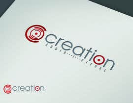 grafkd3zyn tarafından Design a Logo for Creation Audio Visual için no 420