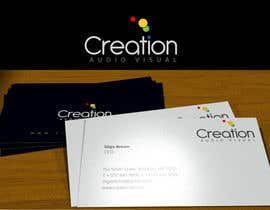 sproggha tarafından Design a Logo for Creation Audio Visual için no 568