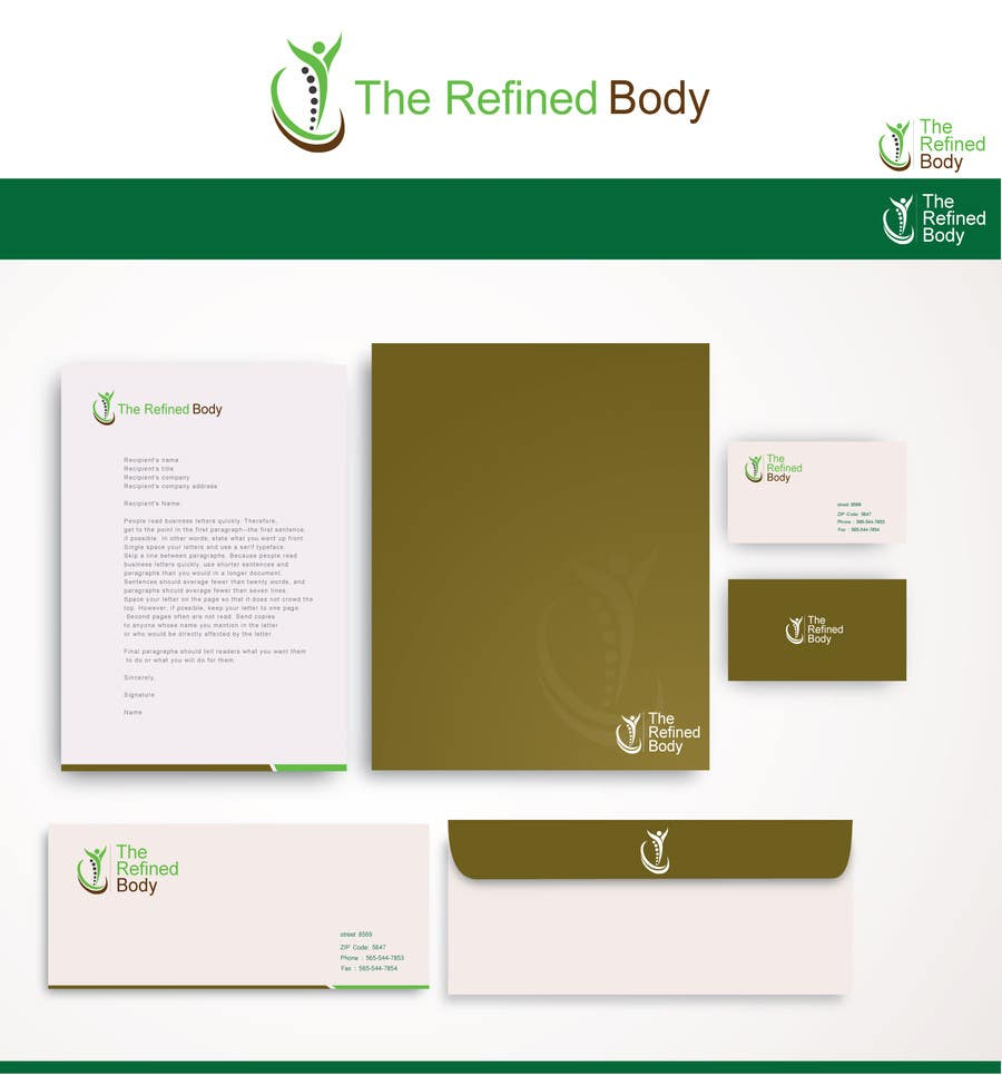 Logo and Business Card Design for a Private Physiotherapy ...