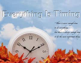 #4 para Splash Page for Everything is Timing por anaung