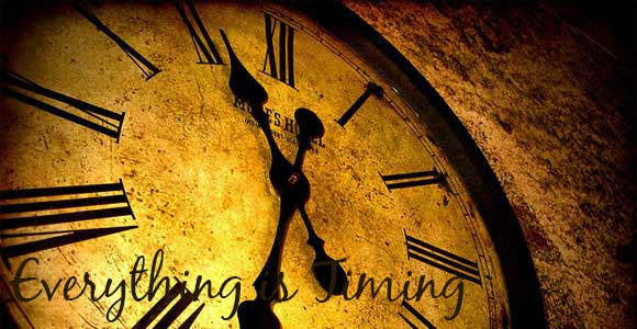 #19 for Splash Page for Everything is Timing by usaart