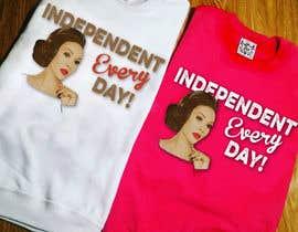 Nro 52 kilpailuun Design a T-Shirt Vivica Fox käyttäjältä creativeoncall
