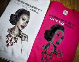 Nro 23 kilpailuun Design a T-Shirt Vivica Fox käyttäjältä aljakol
