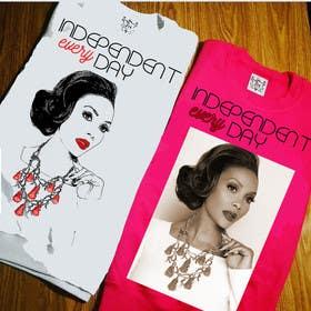ozafebri tarafından Design a T-Shirt Vivica Fox için no 16