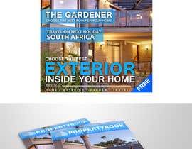 Nro 19 kilpailuun Design me a MODERN front cover for a real estate focused magazine... käyttäjältä ephdesign13