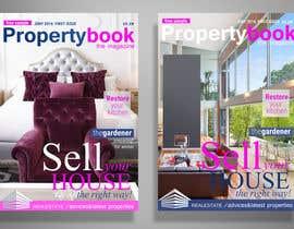 Nro 29 kilpailuun Design me a MODERN front cover for a real estate focused magazine... käyttäjältä CandyHorse