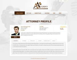 #35 para Design a Website Mockup for AttorneyAuction.com por tania06
