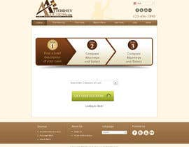 #37 para Design a Website Mockup for AttorneyAuction.com por atularora