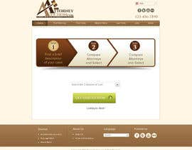#38 para Design a Website Mockup for AttorneyAuction.com por atularora
