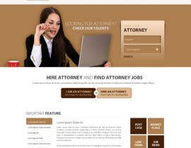 #25 para Design a Website Mockup for AttorneyAuction.com por zumanur