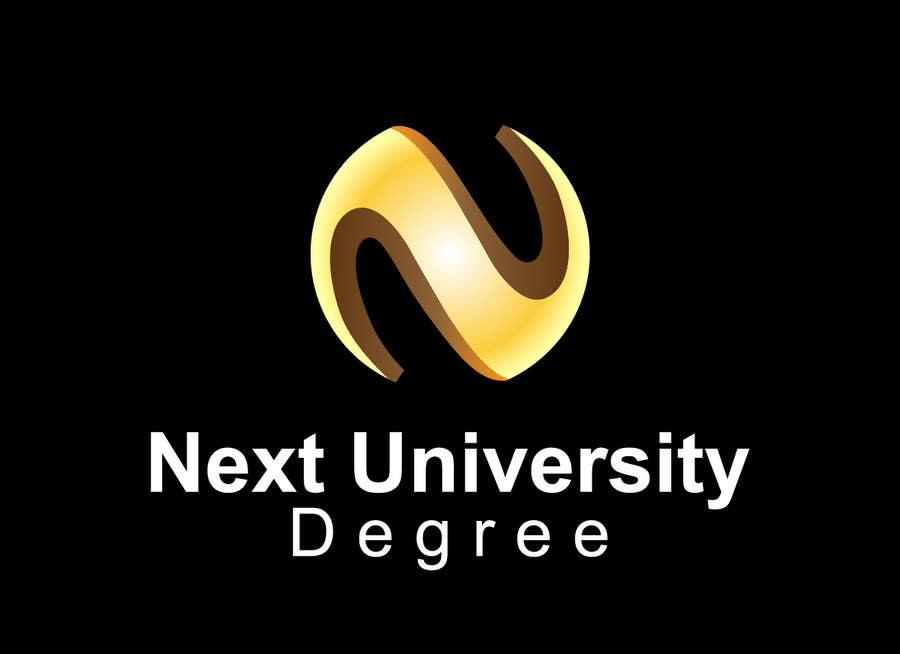 Penyertaan Peraduan #33 untuk Design a Logo for websites NextUniversitydegree.com and Nextgoodcareer.com