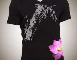 Nro 16 kilpailuun Bamboo design for tee shirt käyttäjältä parrajg17