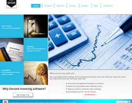 #9 cho Redesign Front Page of Zervant Website bởi shajib3006