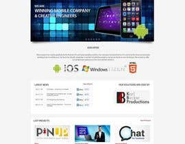 #23 cho Redesign Front Page of Zervant Website bởi grapaa