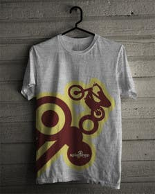 #52 for Design a T-Shirt for Moto Trials by Ipin89