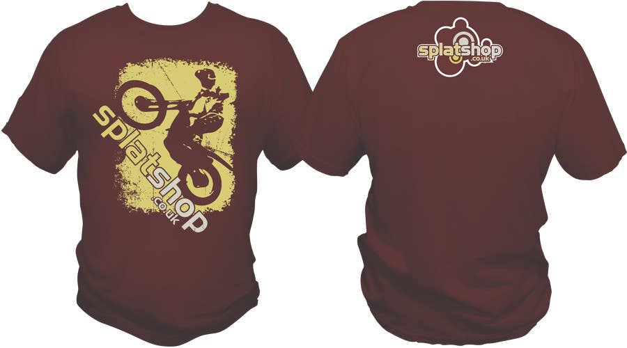 #61 for Design a T-Shirt for Moto Trials by bacujkov
