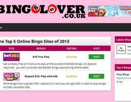 #39 for Design a Logo for a bingo website by camitarazaga