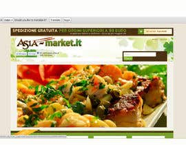 #46 para Design a Logo for our new online-shop of ethnic food Asia-Market.it por mirceabaciu