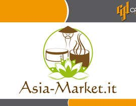 #26 for Design a Logo for our new online-shop of ethnic food Asia-Market.it af CasteloGD