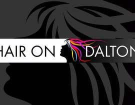 Nambari 95 ya Logo Design for HAIR ON DALTON na twindesigner