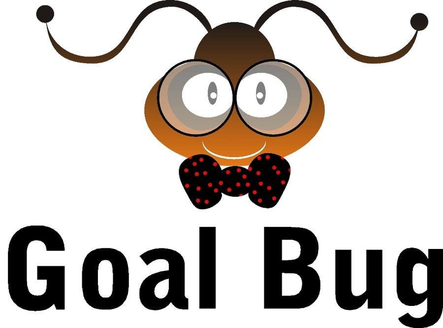 """Kilpailutyö #33 kilpailussa Design a Logo for """"Goal Bug"""""""