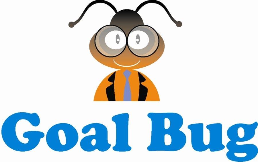 """Penyertaan Peraduan #34 untuk Design a Logo for """"Goal Bug"""""""