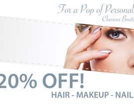 KarrahPickard tarafından Improve a Flyer Design for a Beauty Salon için no 2