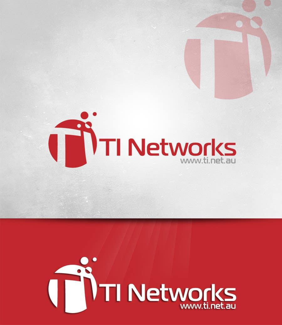 Bài tham dự cuộc thi #                                        1                                      cho                                         Design a Logo for TI Networks (www.ti.net.au)