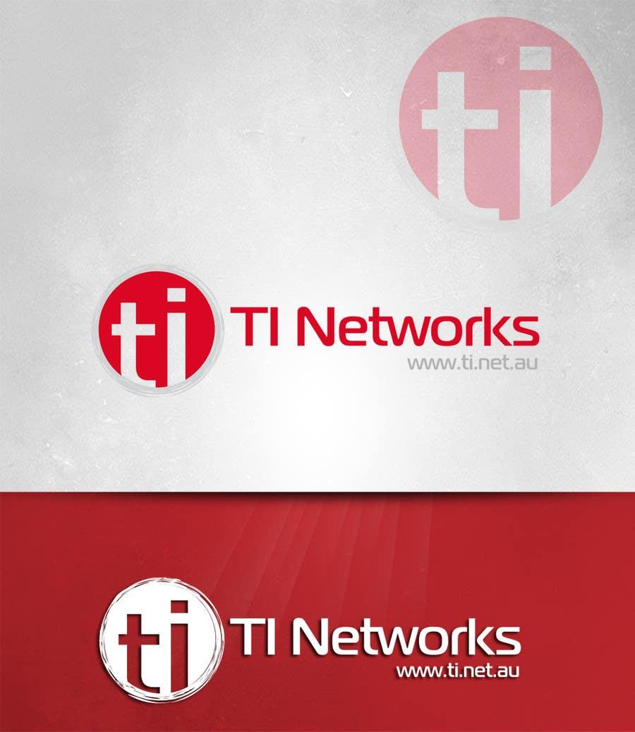 Bài tham dự cuộc thi #                                        128                                      cho                                         Design a Logo for TI Networks (www.ti.net.au)