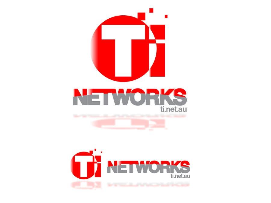 Bài tham dự cuộc thi #                                        153                                      cho                                         Design a Logo for TI Networks (www.ti.net.au)