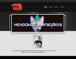 #2 para Build a Website for mendoncasurfboards por TSZDESIGNS